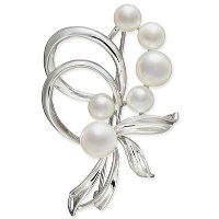 Macy's 珍珠胸针