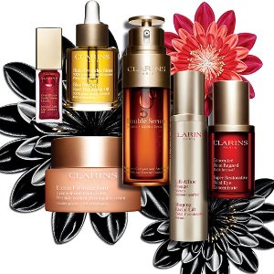 Last Day: Cyber Monday!15% off 1 item, 20% off 2 items, 25% off 3+ items @ Clarins