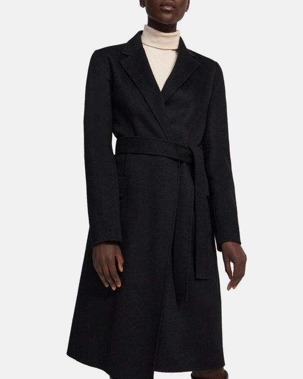 羊绒羊毛大衣