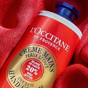 New! Lunar New Year Hand Cream+ Free 4-pc Gift with $66 purchase @ L'Occitane