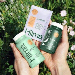 $45+免邮Hilma 全效植物疗法保健品 缓解肠胃不适、增强免疫力