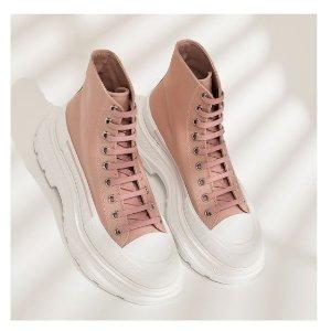 5折起!帆布鞋£266 黑尾£280Alexander Mcqueen 麦昆小白鞋超低价 超全配色等你入手