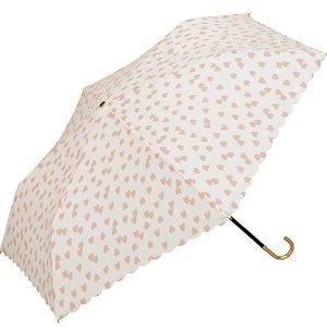 2个直邮美国到手价$38.4w.p.c 防晒防紫外线轻量折叠遮阳伞 粉色爱心款 特价