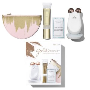 NuFaceGold Trinity Complete Skin Toning Collection