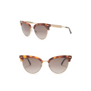Gucci55mm Clubmaster Sunglasses