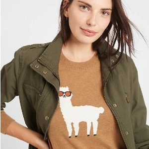 羊驼毛衣$19 水磁场面霜$9