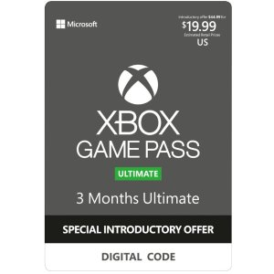 $14.99Xbox Game Pass Ultimate 3个月会员