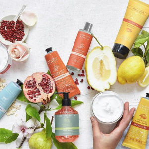 25% OffPear & Pink Magnolia Collection @ Crabtree & Evelyn