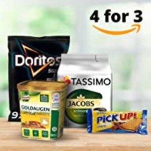 买4付3 外加额外折扣Amazon 本周食品专区优惠再度来袭 收酒水饮料小零食