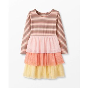 Hanna AnderssonPleated Dress In Soft Tulle