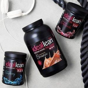 第2件半价 巧克力、抹茶等10种口味Idealfit 健身蛋白粉大促 高端女子减肥产品