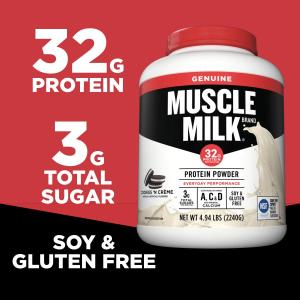 Muscle Milk 曲奇味蛋白奶粉 4.94磅