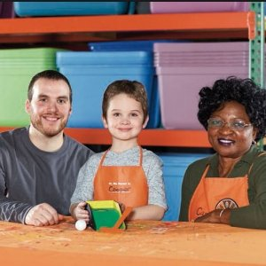 制作桌上高尔夫游戏预告:Home Depot 6月份免费儿童手工活动