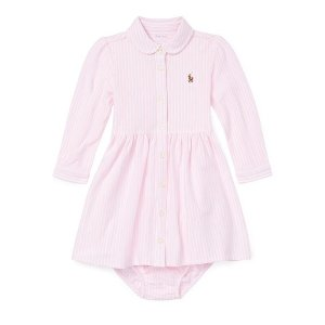Ralph Lauren Childrenswear婴儿牛津连衣裙