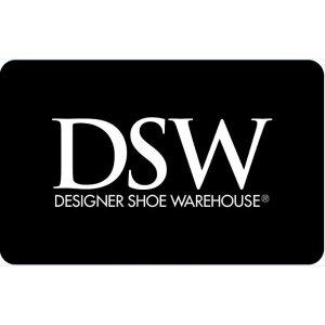 DSW 礼品卡