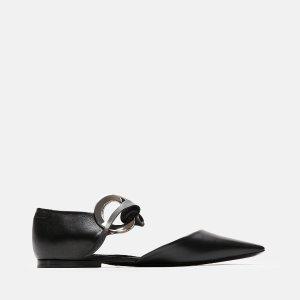 Proenza Schouler尖头平底鞋