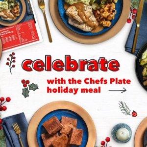 折扣限时升级!免费吃6餐独家:Chef's Plate 节日大促 宅家安心享用美味大餐