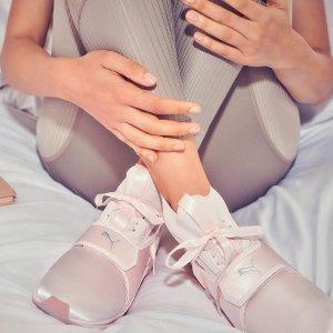 最高新款7折,折扣区额外8折PUMA官网 全场女士运动鞋不分区大促 新款抓紧收