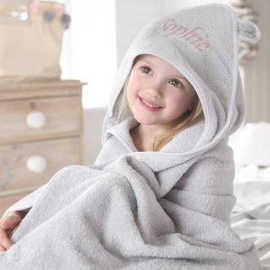 20% Off $100Personalized Baby Hooded Towels @ My 1st Years