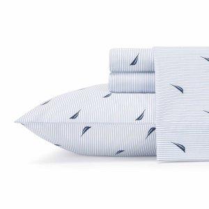 低至7.5折限今天:Nautica 海洋主题床单套装热卖