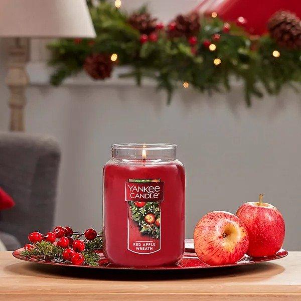 22oz 香薰蜡烛 红苹果