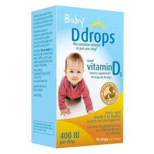 Buy 1, Get 1 50% OFFDdrops Baby Vitamin D3 400IU @ Walgreens