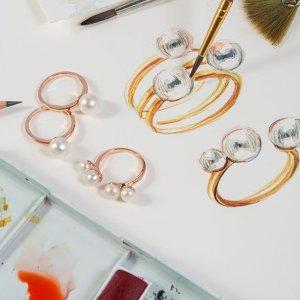 7.5折 珍珠耳饰£45起即将截止:Olivia & Pearl 绝美珍珠首饰全场大促