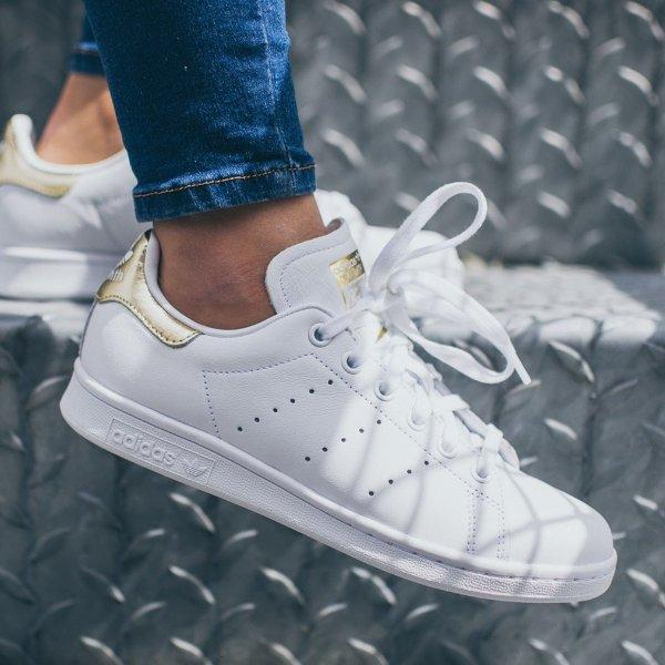 Stan Smith 金尾女鞋