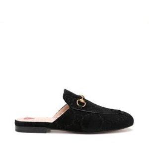 丝绒穆勒鞋