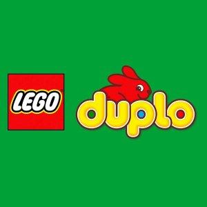 低至6.3折LEGO 适合低龄幼儿的 duplo 得宝系列积木