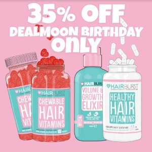 Dealmoon Exclusive: 35% OffSitewide @ Hairburst