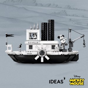 $89.99+Free GiftIdeas Steamboat Willie 21317 @ LEGO Brand Retail
