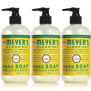 $11.97 + Save $5 on $20Mrs. Meyer's Clean Day Liquid Hand Soap, Cruelty Free and Biodegradable Formula, Honeysuckle Scent, 12.5 oz- Pack of 3