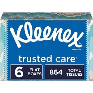 Kleenex144抽纸巾 6盒装