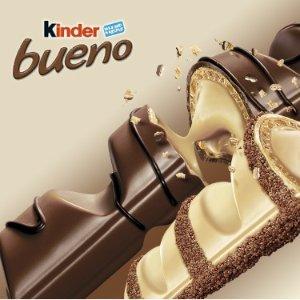 $19.99(原价$60)含奶昔制作教程Kinder Bueno 健达缤纷乐威化黑巧克力 30条装