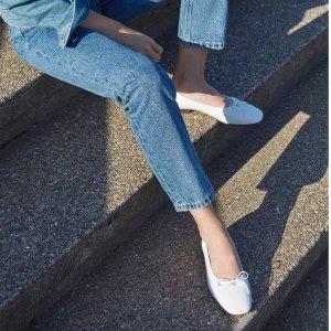 New Member 10% Off + Free ShippingNew Arrivals: EVERLANE Women's Flats Hot Pick