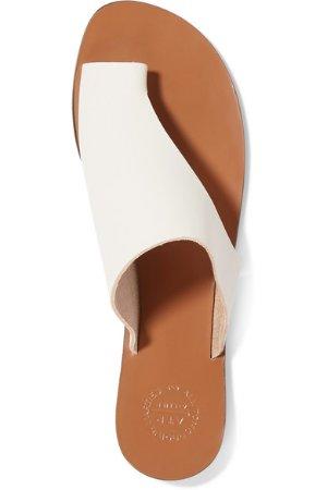 ATP Atelier | Rosa cutout leather sandals | NET-A-PORTER.COM