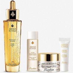 Selfridges GUERLAIN Abeille Royale Youth Watery Oil skincare set