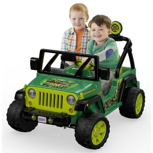 Fisher PricePower Wheels Teenage Mutant Ninja Turtles Jeep Wrangler | DRH62 | Fisher-Price