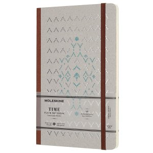 $5.7Moleskine Limited Collection Time Notebook, Hard Cover, Large (5