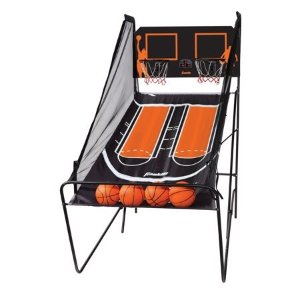 $79.99(原价$129.97)Franklin Sports 街机风格家用娱乐投篮机