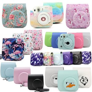 US $5.35 30% OFF|Fujifilm Instax Mini Camera Case Bag PU Leather Cover with Shoulder Strap For Instax Mini 9 Mini 8 Mini 8+ Instant Film Cameras|camera cases bags covers|camera leather coversinstax mini 8 cover - AliExpress