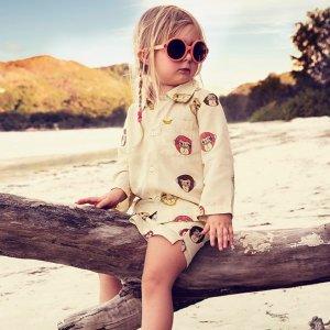 低至5折+最高额外8折Mini Rodini 儿童服饰折上折促销 来自北欧的小童趣
