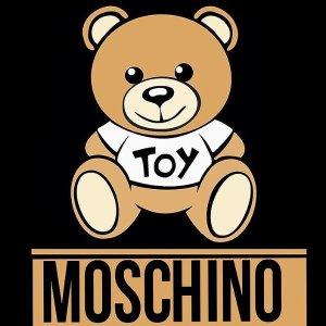 5折起 logo T恤$132Moschino 折扣区 小熊系列T恤$322起 $194收粉嫩小兔几短袖
