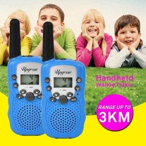 低至6.9折 €16.99收封面款便携式对讲机专场热促 传输距离最远3公里 大人小孩都可用