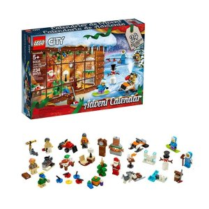 Amazon LEGO City Advent Calendar 60235 Building Kit, New 2019 (234 Pieces)