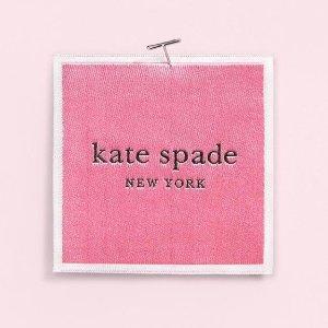 8折 收粉色蝴蝶结背包Kate Spade 甜美少女气十足背包、鞋履、饰品热卖