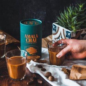独家8.5折 站内抽奖赢礼盒独家:AMALA CHAI 伦敦高级手工茶叶 夏日的正宗阿萨姆奶茶