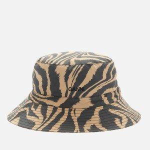Ganni豹纹渔夫帽
