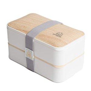 不含双酚 A ,零浪费!日式午餐盒 双层